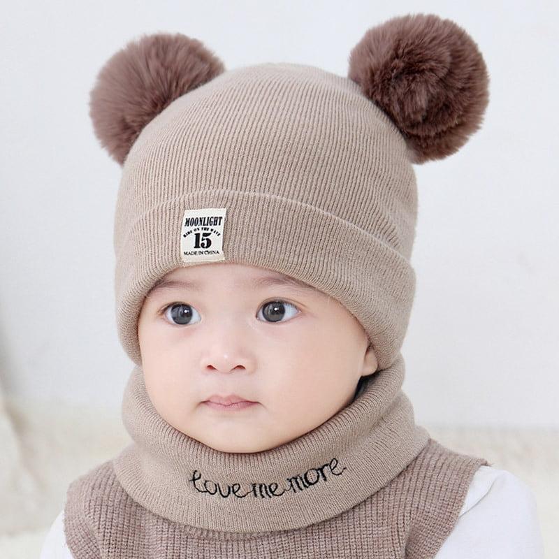 Winter Kids Boys Girls Baby Cute Beanie Warm Chiristmas Funny Warm Hat Cap