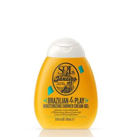 Mint Moisturizing Shower Gel - Sol de Janeiro Brazilian 4 Play Moisturizing Shower Cream-Gel, 3 Oz