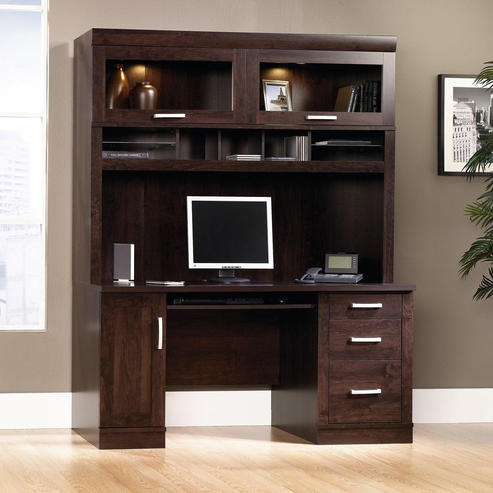 sauder office port computer credenza desk with optional hutch walmartcom