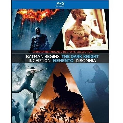 Christopher Nolan Director's Collection: Batman Begins / The Dark Knight / Inception / Memento / Insomnia (Blu-ray) (Widescreen)