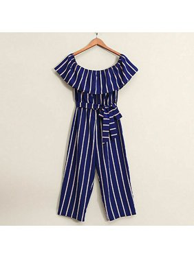 Family Matching Clothes Mother and Daughter Women Girl Outfit Romper Jumpsuit
