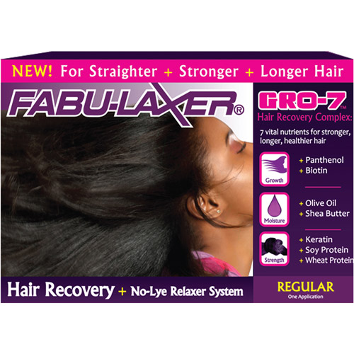 Fabu-Laxer Gro-7 Hair Recovery + No Lye Relaxer System