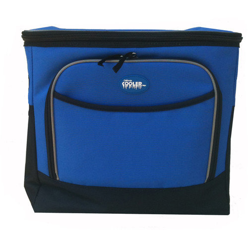 California Cooler Bags Large Collapsible Cooler Bag in Royal Blue