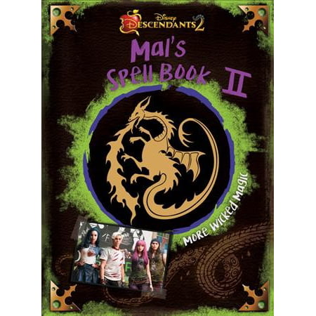 Descendants 2: Mal's Spell Book 2: More Wicked Magic (Hardcover) (Halloween Spell Book Pages)