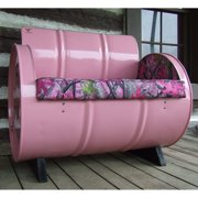 Drum Works Furniture Sassy B True Timber Camo Bench