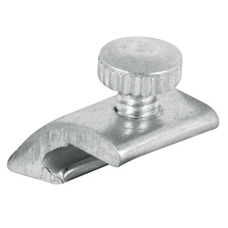 Prime Line Products 181995 Storm Door Panel Clips, Aluminum, 4-Pk. ()