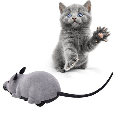 Wireless Remote Control Mock Fake Rat Mouse Mice RC Toy Prank Joke Scary Trick Bugs for Party and For Cat Puppy Funny Toy](Funny Scary Halloween Pranks)