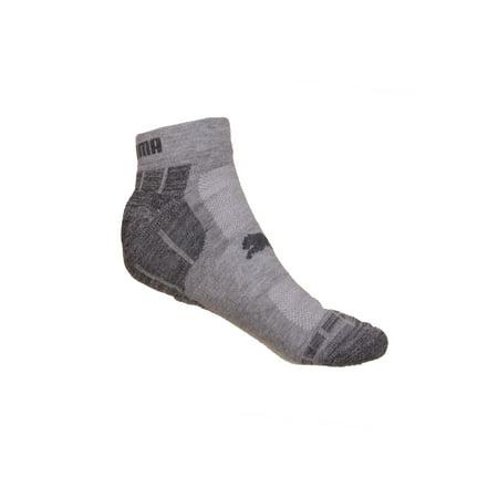Puma Men's 6-Pack 1/2 Terry Low Cut Socks