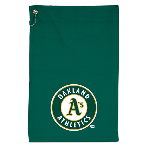 Wincraft Oakland Athletics 16'' x 25'' Sports Golf Towel - Green - No Size