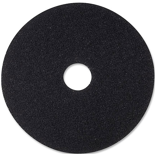 "3M 7200 Black 16"" Stripping Pads, 5 count"