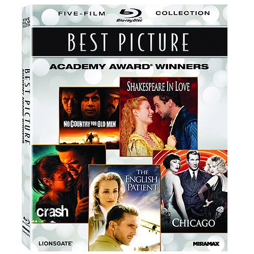 Best Picture Academy Award Winners: The English Patient / Chicago / Crash / No Country For Old Men / Shakespeare In Love (Blu-ray) (Widescreen)