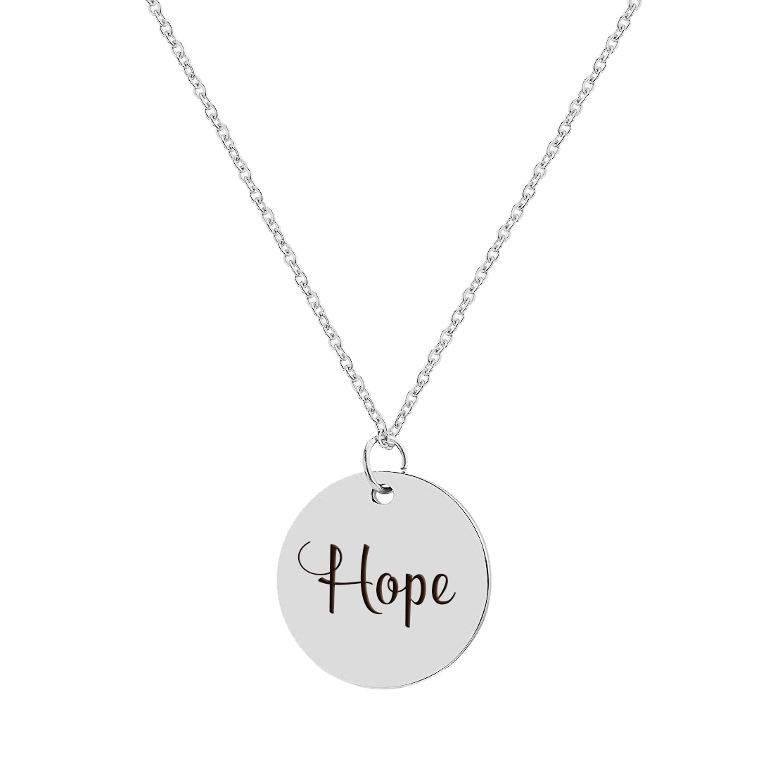Inspirational Necklace Silver Jewelry Gift for Women and Girls Motivational Quote Lion King Quote Pendant