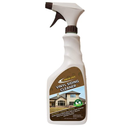 Drop Off Vinyl Siding Cleaner 24 Oz Case Walmart Com