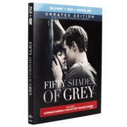Fifty Shades Of Grey (Unrated) (Blu-ray + DVD + Digital HD) by Universal Home Entertainment