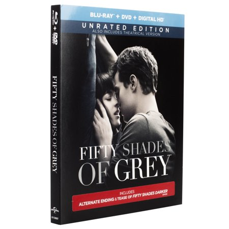 Fifty Shades Of Grey (Unrated) (Blu-ray + DVD + Digital (50 Shades Of Grey Uk Release Date)