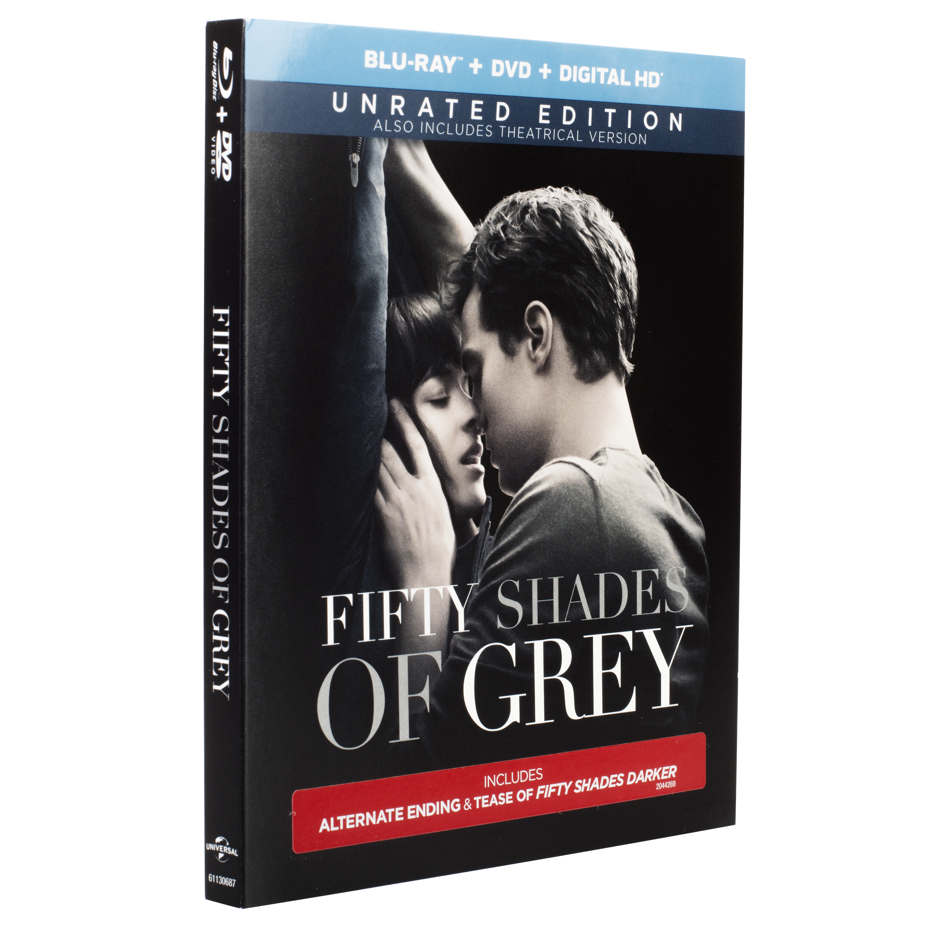 Fifty Shades Of Grey (Unrated) (Blu-ray + DVD + Digital HD)