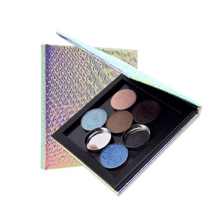 DIY Empty Magnetic Makeup Palette Case Eyeshadow Lip Gross Powder Cosmestic Panel Organizer - Diy Pretty Halloween Makeup