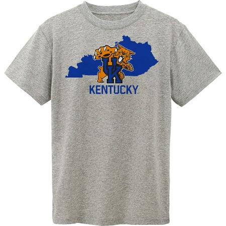 Kentucky Wildcats Toddler State T-Shirt - Gray - Kentucky Wildcats Cheerleading