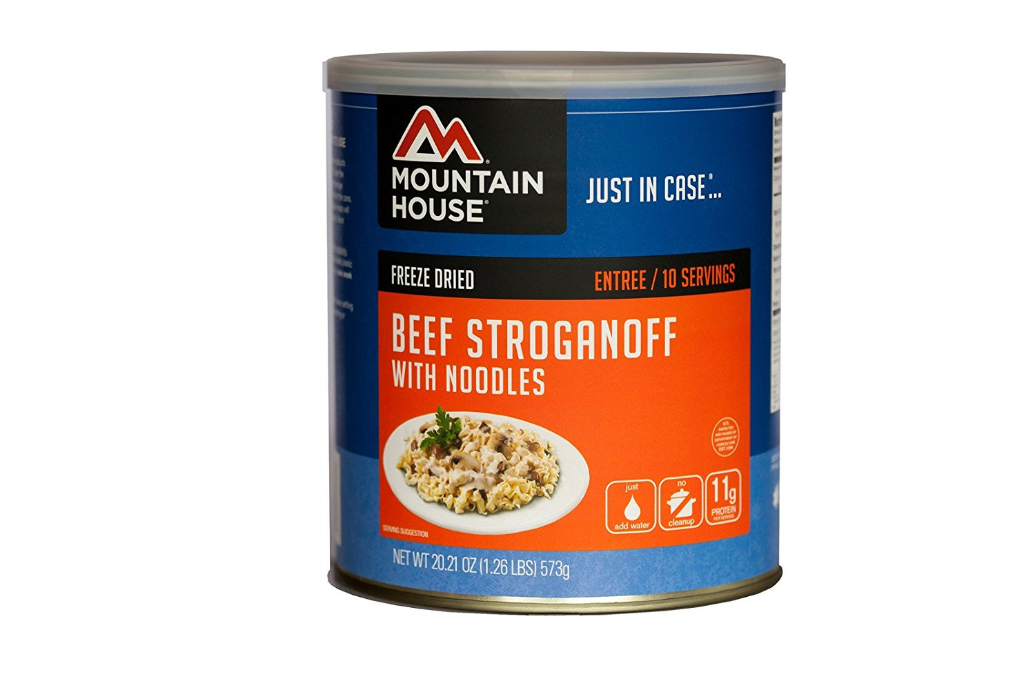 Beef Stroganoff with Noodles #10 CAN, ship from USA,Brand Mountain House by