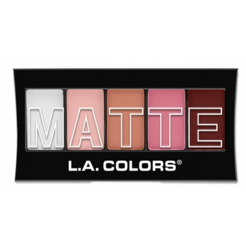 (3 Pack) L.A. Colors Matte Eyeshadow - Pink Chiffon