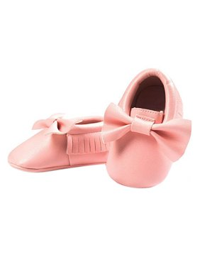 097795232abf Product Image BOBORA Newborn Baby Soft Sole Leather Crib Shoes Anti-slip  Prewalker 0-18 Months