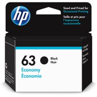 HP 63 | Ink Cartridge | Black | Economy Size | ~170 Pages| 1VV45AN