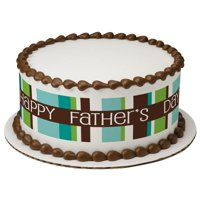 Happy Father's Day Edible Cake Topper Image Strips