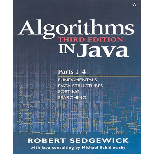 Algorithms in Java: Fundamentals, Data Structures, Sorting, Searching, and Graph Algorithms