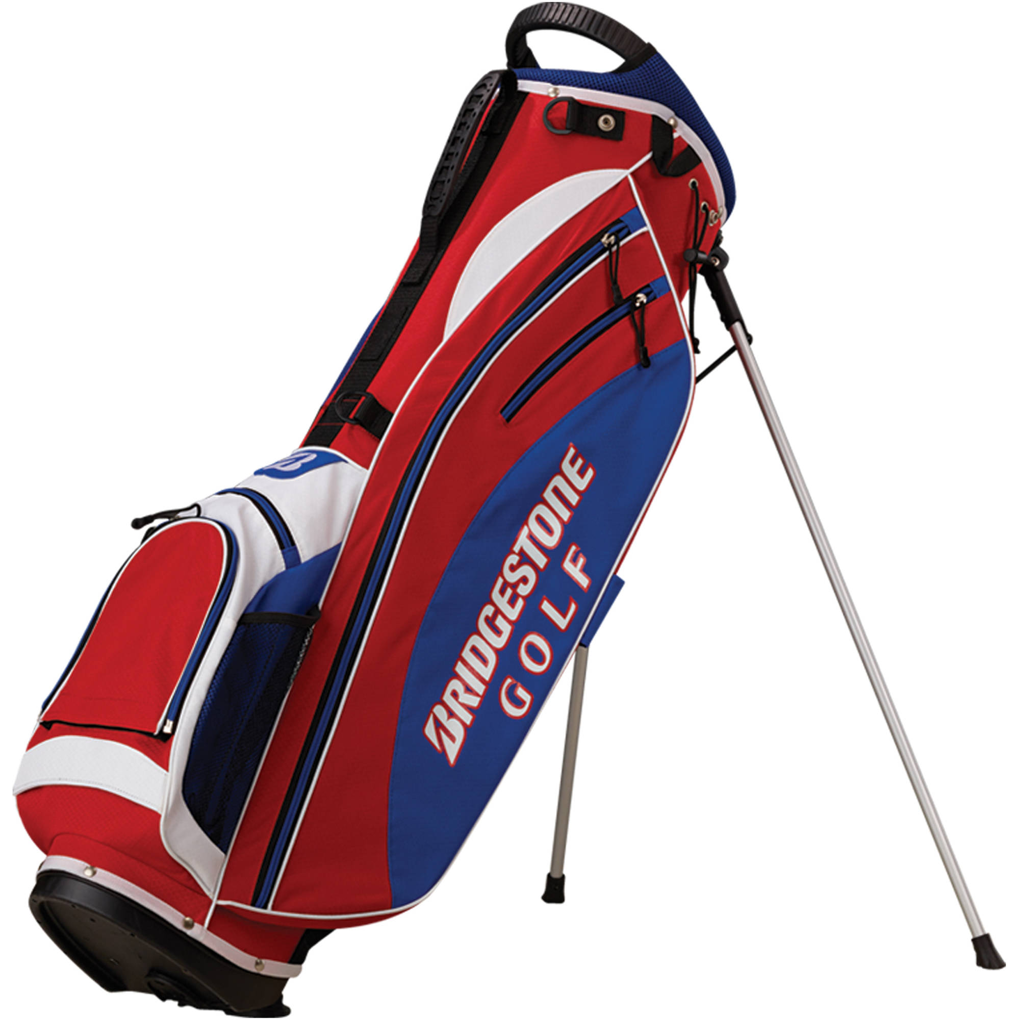 "Lightweight Stand Bag, 7"" x 9.5"", Red/White/Blue"