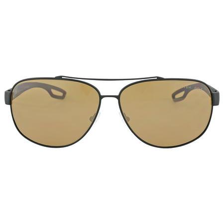 d096e6128f68 Prada - Prada Linea Rossa Polarized Brown Lens Sunglasses PS 58QS-DG05Y1-63  - Walmart.com