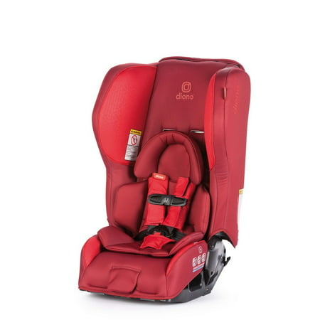 Diono Rainier 2AX Latch Convertible Car Seat, Red