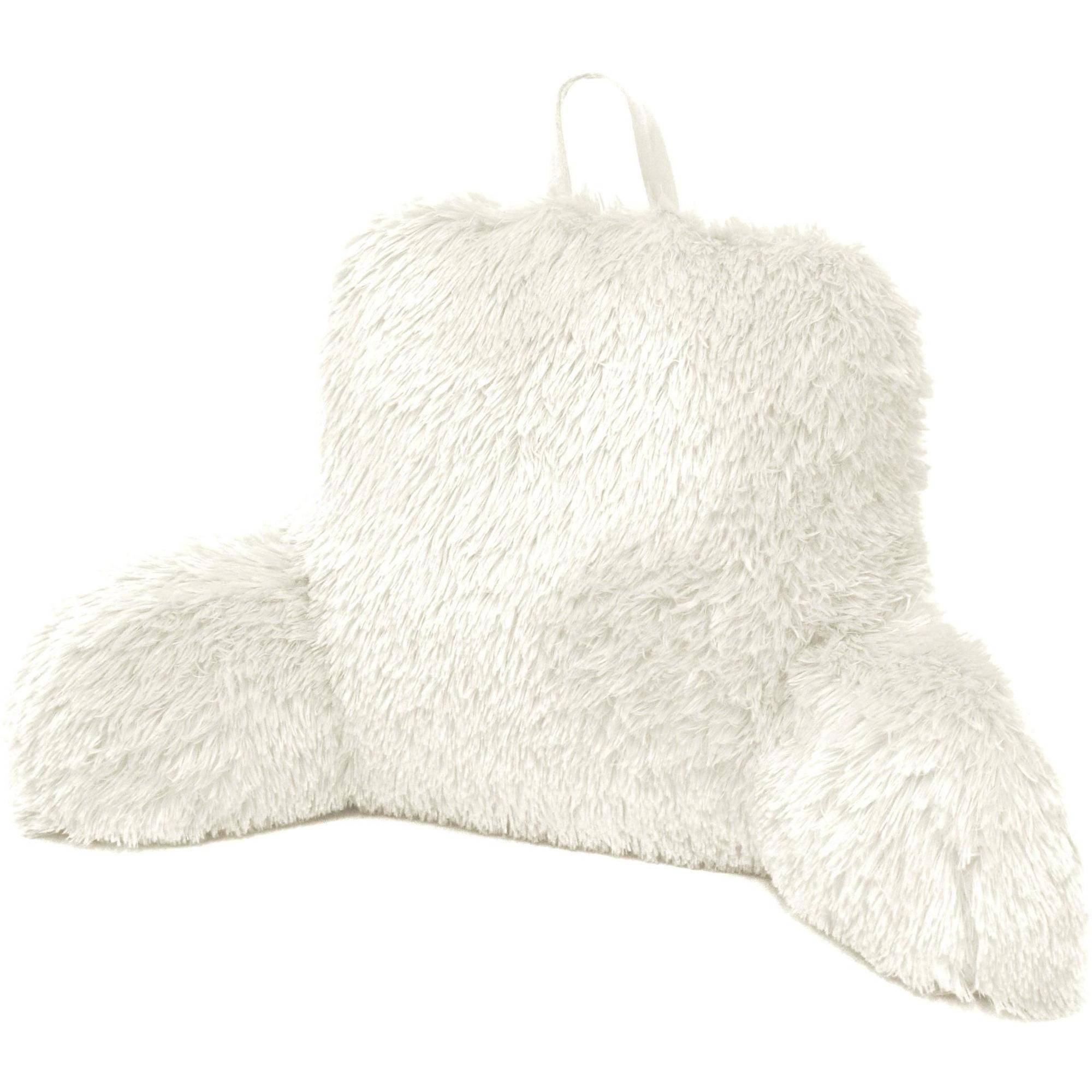 Formula Longhair Faux Fur Backrest Pillow Walmart Com