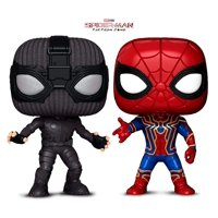 Warp Gadgets Bundle - Funko Pop - Spider-Man: Far from Home - Sealth Suit Spider-Man and Infinity War Iron Spider (2 Items) Action Figures Toys