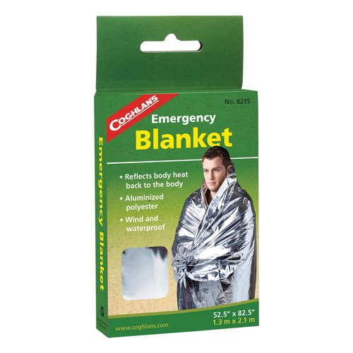 "Coghlan's Emergency Blanket 52"" x 82.5"""