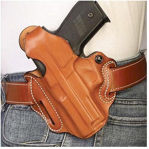 Desantis Thumb Break Scabbard Belt Holster fits Glock 19 23, Left Hand, Black by Generic