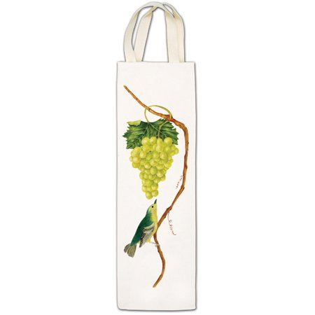 Alice's Cottage White Grapes Wine Caddy Tote Gift Bag - Grape Wine Caddy