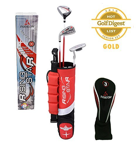 Paragon Rising Star Kids/Toddler Golf Clubs Set Ages 3-5 ...