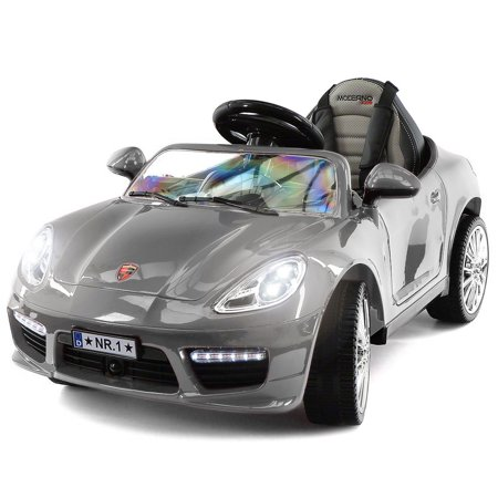4a5416756d5d 2019 Kids Sports 12V Ride On Car Battery Powered W/ Dining Table, Leather  Seat, LED Lights - Walmart.com