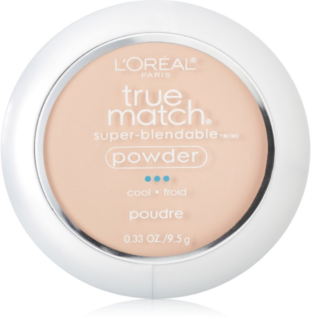 L'Oreal True Match Powder, Natural Ivory [C2], 0.33 oz (Pack of 2)