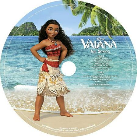 Disney   Moana  Aka Vaiana   Soundtrack   Picture Disc   Vinyl