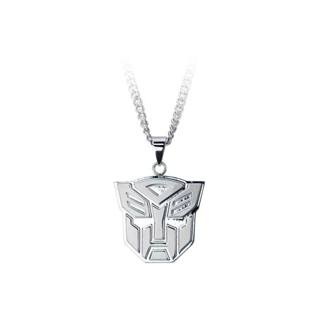 Autobots Logo Stainless Steel 24 Chain Pendant Necklace