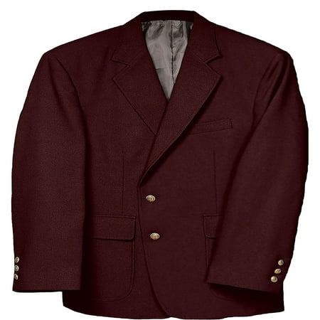 Edwards Men's Classic Two Button Single Breasted Blazer, Style 3500