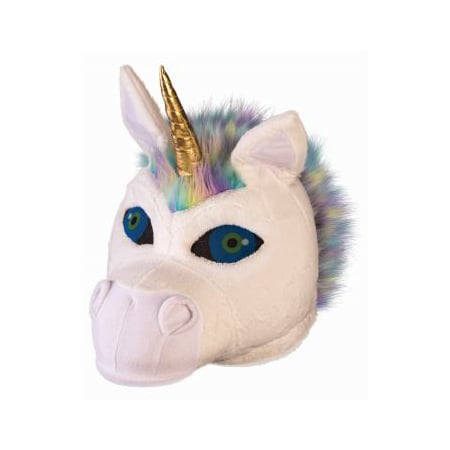 Unicorn Mascot Head Halloween Costume Accessory - College Football Mascot Halloween Costumes