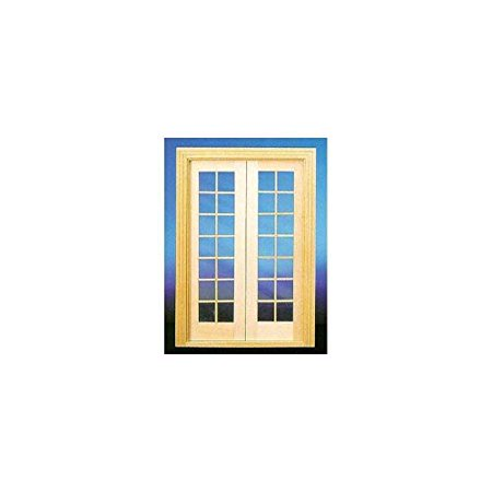 newest c8741 b22ce Handley House Dollhouse Miniature Double French Doors for ...