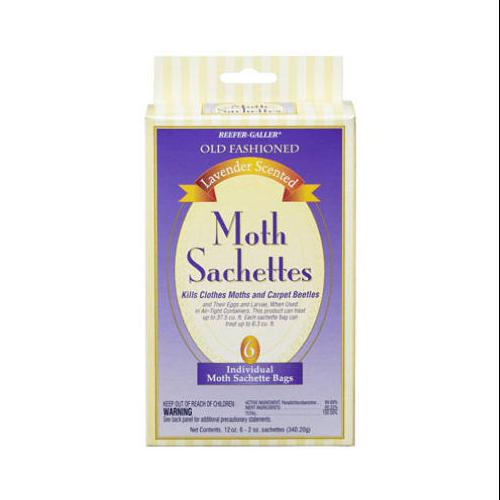 WILLERT HOME PRODUCTS 6-Pack Old Fashioned Lavender-Scented Moth Sachets