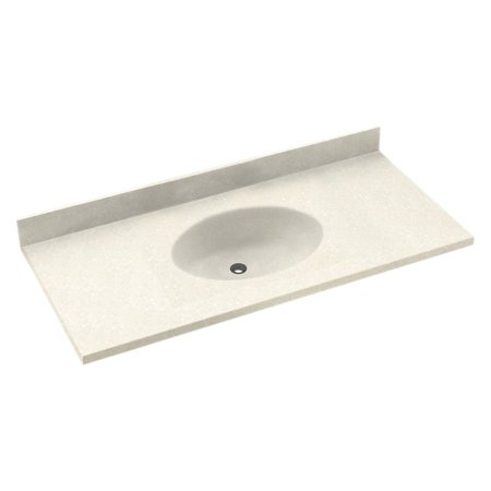 Swanstone 25W x 22.5D in. Chesapeake Solid Surface Vanity Top (Chesapeake Swanstone Vanity Top)