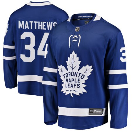 Auston Matthews Toronto Maple Leafs Fanatics Branded Youth Home Breakaway Player Jersey - (Best Maple Leafs Players Of All Time)