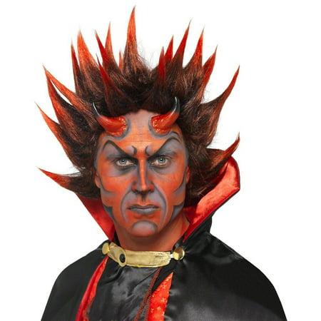 Cruella De Vil Wig (Devil Punky Wig Adult Costume)