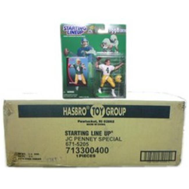 NFL Starting Line-Up Complete Set Case 1998 by HASBRO TOY GROUP