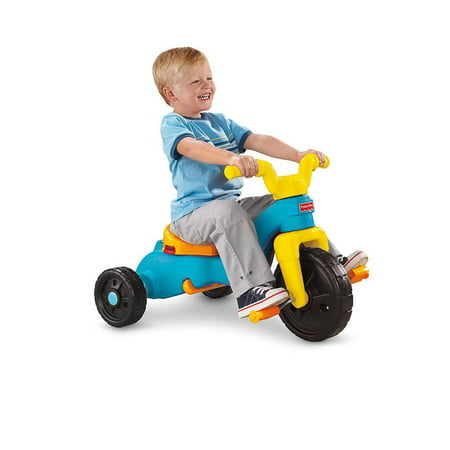 3eb99fc20b4 Fisher-Price Rock, Roll 'n Ride Trike with 3 Grow-With-Me Stages -  Walmart.com